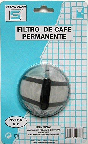 Filtro cafetera nylon Nº2 | TECNHOGAR