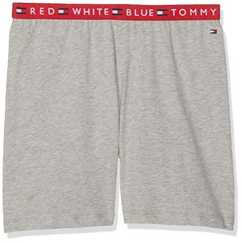 Tommy Hilfiger Jungen Shorts Grau (Grey Heather 004) 164 (Herstellergröße: 12-14) (Tommy Jungen-shorts Hilfiger)