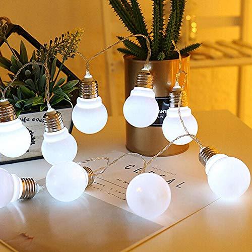 10 / 20Led Glühbirne LED String Lichter Weihnachten Batterie LED Fairy Light Party Decor Lampe DC12V Für Festival Dekoration für Outdoor Indoor Windows Home Zimmer Vasen Batterie Selbstversorger