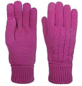 trespass chacha gants en laine pour femme magenta sports et loisirs. Black Bedroom Furniture Sets. Home Design Ideas