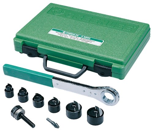 Greenlee 36693Manuelle slug-buster Knockout Punch Kit, metrisches, iso-16durch iso-63