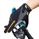 Unisex Fahrradhandschuhe Touchscreen Einstellbar Radsporthandschuhe Skidproof