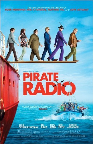 Pirate Radio (The Boat that Rocked) Movie Poster