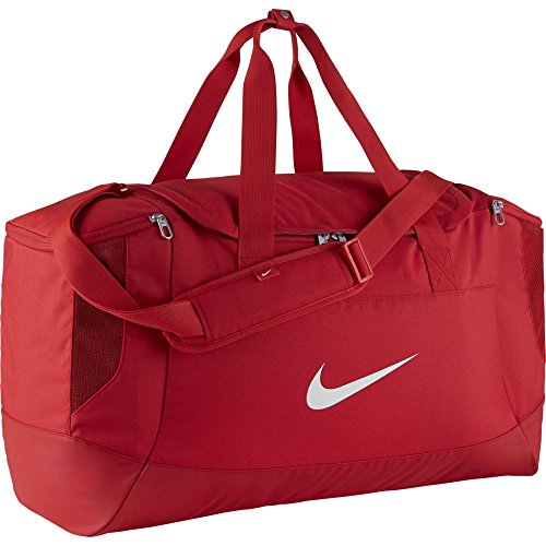 Nike Club Team Duffel Bag L Sporttasche, University red/White, 58 x 29 x 38 cm