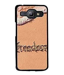 Fuson Designer Back Case Cover for Samsung Galaxy J1 (2015) :: Samsung Galaxy J1 4G (2015) :: Samsung Galaxy J1 4G Duos :: Samsung Galaxy J1 J100F J100Fn J100H J100H/Dd J100H/Ds J100M J100Mu (Freedom Elegant Ocean Sea Side )