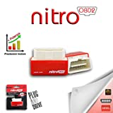 Nitro module additionnel universel OBD2 commande voiture diesel chip tuning OBDII
