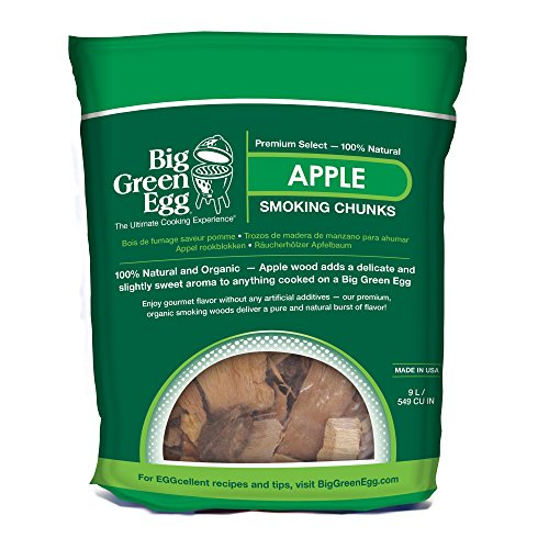 Big Green Egg AC914 Apple Rauchen Chunks - Holz - Big Green Egg Bbq-grill