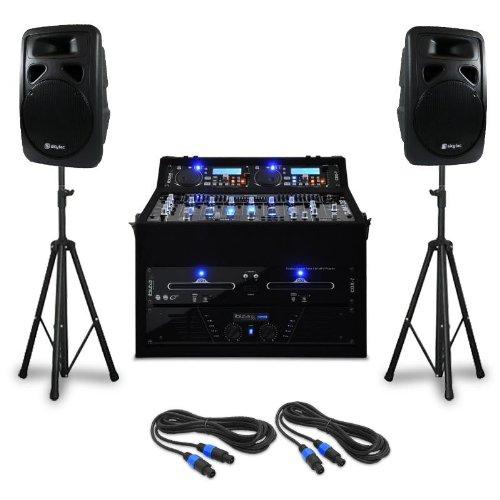 DJ PA Set Punch Line 300 Personen 1200W