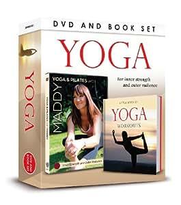Yoga DVD & Book Gift Set