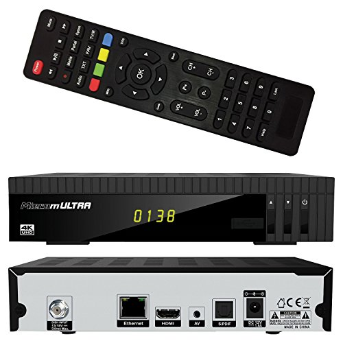 Microelectronic HD-SAT-Receiver mUltra 4k UHD FTA Front-USB  Ultra HD