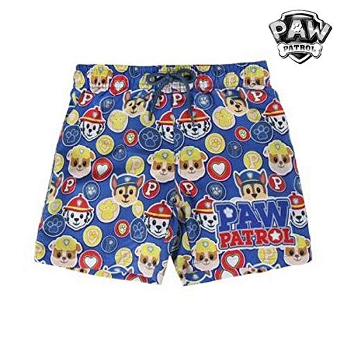 Paw Patrol The S0713038 One Piece Swimsuit, Azul, 3-4 años Boys