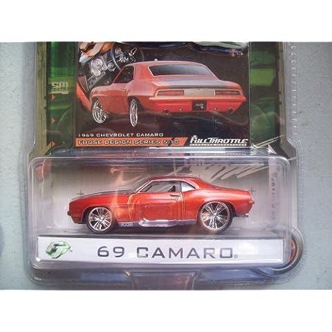 Foose Design Full Throttle Orange Chevy 69 Camaro by Foose Design