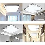 HENGDA 36W LED Deckenleuchte Modern Deckenlampe 2700K-3500K Warmweiß Flur Wohnzimmer Lampe Schlafzimmer 85V-265V