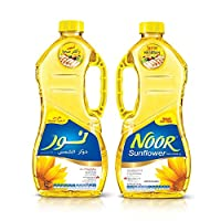 NOOR Sunflower Oil, 2 x 1.8 Litre