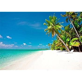 YongFoto 3x2m Vinyl Foto Hintergrund Strand Meer: Amazon