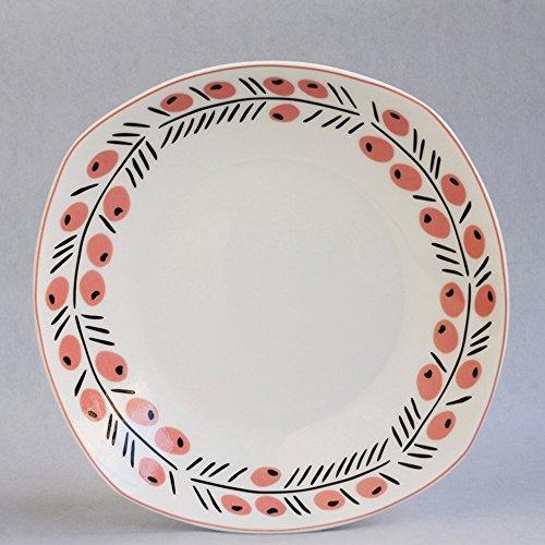 Piatto / Posate / creativo articoli per la tavola del piatto / articoli per la tavola piatto di ceramica / minestra / Piatto freddo piatto (7,5 pollici) (3 colori facoltativi) (Formato facoltativo) ( colore : A , dimensioni : 8 Pieces )