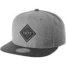 WITHMOONS Gorras de béisbol Gorra de Trucker Sombrero de Snapback Hat 1977 Diamond  Patch Hip Hop a955efb7787