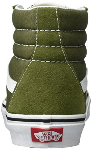 Vans Sk8-Hi, Chaussures de Running Mixte Adulte Vert (Winter Moss/true White)