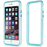 EnGive Bumper Case iPhone 6 Plus Hülle (5.5 Zoll) Schutzhülle Protection Rahmen (iPhone 6 Plus, Hellblau)