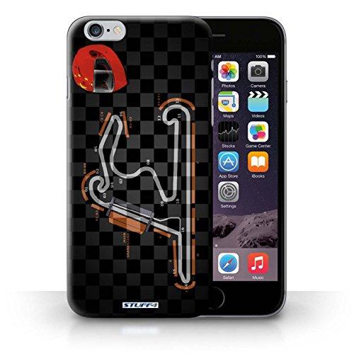 Kobalt® Imprimé Etui / Coque pour iPhone 6+/Plus 5.5 / USA/Austin conception / Série 2014 F1 Piste Chine/Shanghai