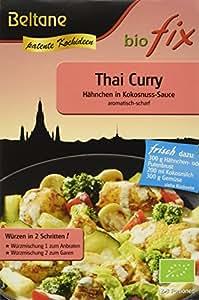 Beltane biofix Thai Curry - 2 Portionen, 2er Pack (2 x 20,9 g Packung) - Bio