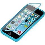 kwmobile Pratique et robuste protection Full Body de TPU silicone pour le Apple iPhone 5C en Bleu clair - Une v�ritable protection compl�te � votre Apple iPhone 5C