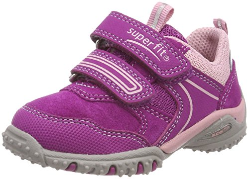 Superfit Baby Mädchen Sport4 Mini Sneaker, Pink (Dahlia Kombi), 22 EU