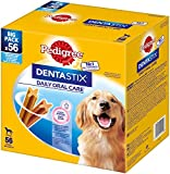 Pedigree DentaStix Daily Oral Care Zahnpflegesnack für große Hunde - Hundeleckerli mit Huhn- & Rindgeschmack für jeden Tag - 1 x 56 Stück