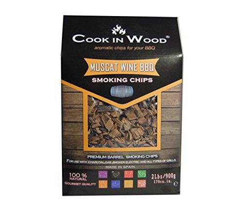 Cook In Wood de fumage Muscat Wine BBQ 900 g Carton