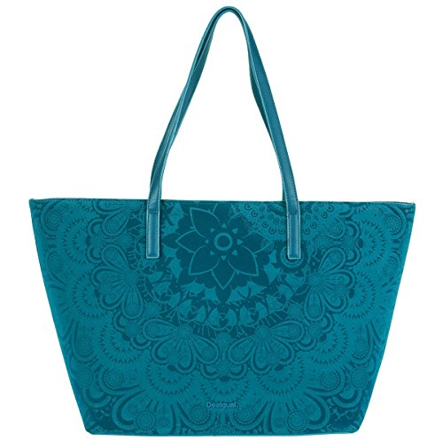Borsa Desigual San Francisco Velvet 67X50AB MainApps Midnight Light (Blue)