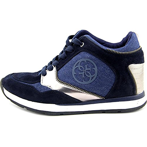 Guess Gwliela 4 Toile Baskets Dark Blue