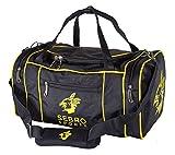 Praktische Sport-Tasche für Damen und Herren mit vielen Fächern, Schultergurt, Tragegurt fürs Training, Gym, Fitness und Reisen - Bodybuilding | SEBRO SPORTS