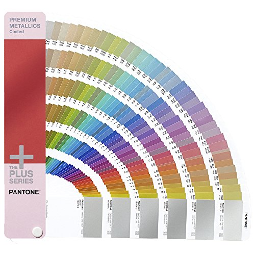 PANTONE PLUS GG1505 Premium Metallics Guide Coated [Ein Farbfächer inbegriffen] -