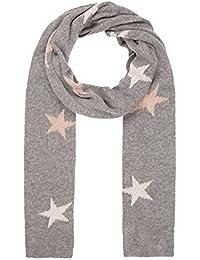 Codello Damen Kaschmir-Schal mit Sternchen-Muster