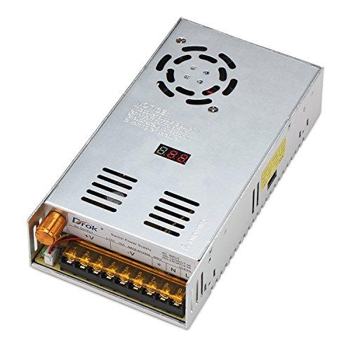 Triple-kondensator (DROK® AC-DC Digital Netzteil AC 110-220V/DC 0-24V 20A Schalter-Wandler 480W Einstellbare Spannung Detector regulierte Stromversorgung eingebauter Lüfter)