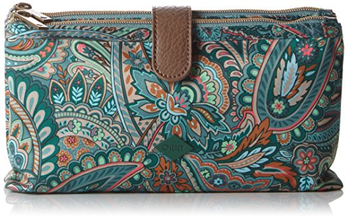 oilily-womens-oilily-double-flat-make-up-pouches-green-size-24x5x12-cm