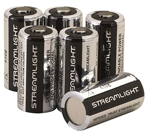 Streamlight Piles au lithium CR123 A, 85180