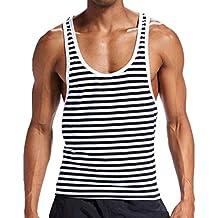 fe755d18c948 Elsta Herren Sport Top Sexy Unterwäsche Grundlegendes Shirt Tank Top  Tankshirt T-Shirt Unterhemden Ärmellos