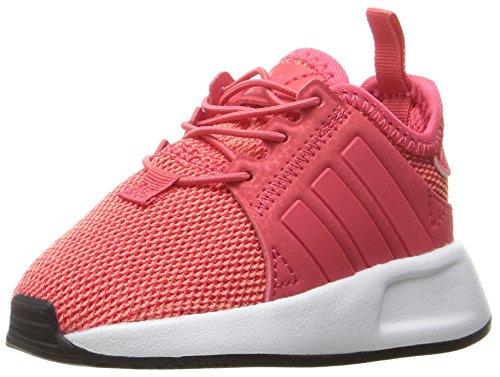 adidas Originals Girls' X_PLR EL I Sneaker, Core Pink Core Pink/White, 7 M US Toddler (Toddler Adidas Sneaker)