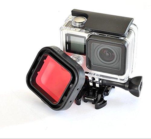 eink-filtro-rojo-para-submarinismo-en-agua-azules-para-carcasa-estandar-de-gopro-hero-4-black-silver