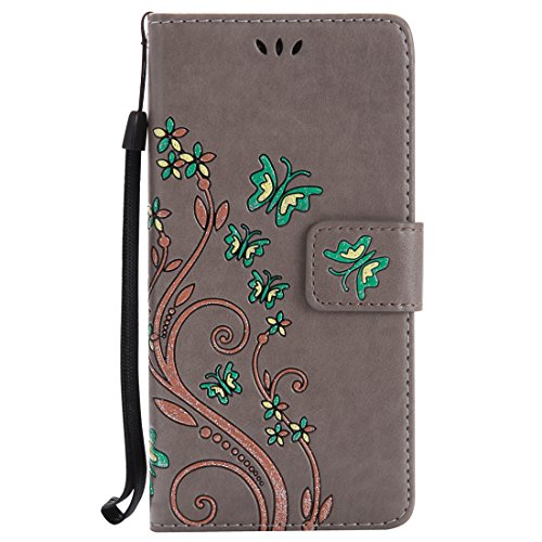 Nancen Compatible with Handyhülle Sony Xperia XZ Hülle,Sony Xperia XZ (5,2 Zoll) Leder Wallet...