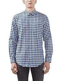ESPRIT Collection Herren Businesshemd 106EO2F023, Blau (Blue 430), Kragenweite: 41 cm (Herstellergröße: 41-42)