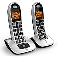 BT Cordless Big Button Phone with Nuisance Call Blocker - Pack of 2