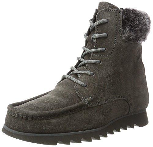 Sioux Grash.-D172-32-Wf, Damen Mokassin stiefel, Grau (asphalt/schwarz), 42 EU (8 UK) Preisvergleich