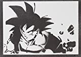 Son Goku Handmade Street Art
