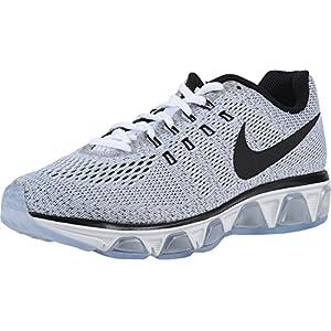 Nike Womens Air Max Tailwind 8 White/Black Running Shoe 5.5 Women US