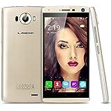 "LANDVO V11 5.0"" IPS qHD Bildschirm 3G-Smartphone Android 5.1 MT6580M Quad Core 1.3GHz Handy Dual SIM 1G RAM+4G ROM Dual Kameras Smart Wake GPS WIFI Gold"