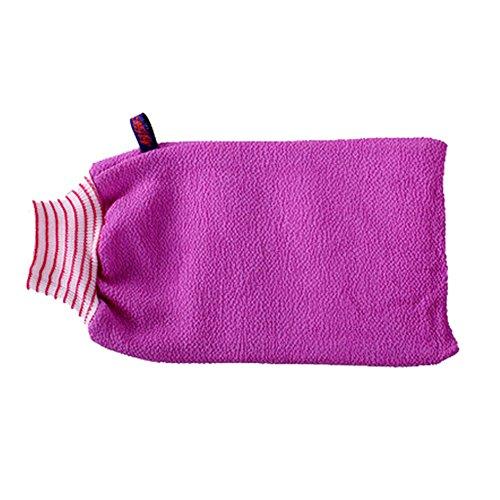 Serviette Exfoliant Retour laveur mousseux Éponge Bath Violet