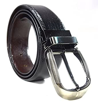 Moochies Genuine Leather Belt for Mens Black Colour, Size XXL-New(New)