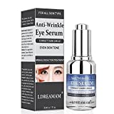 Anti Wrinkle Eye Serum,Anti Ageing Eye Serum,Hydrating Eye Serum,for Eyes,Pure Moisturizer to Hydrate & Enriches Skin, Reduce Wrinkles & Fine Lines,Natural Under Eye Repair Serum And Bag Remover Gel